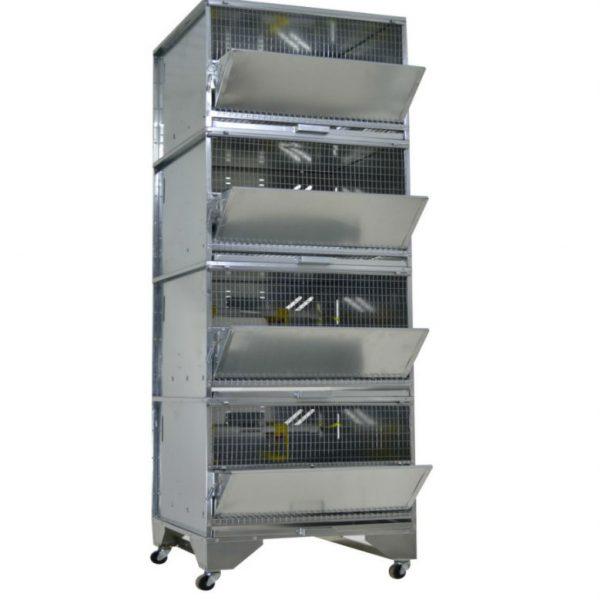 Картинка 1 - Клетка для бройлеров Профессионал 4-7 Стандарт.