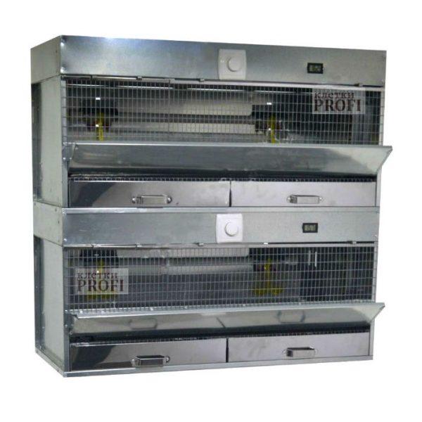 Клетки Профи 1 - Брудер для цыплят Базиc 90-БР-2 Премиум.