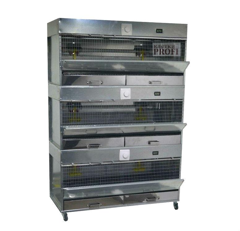 Клетки Профи 1 - Брудер для цыплят Базиc 90-БР-3 Престиж.
