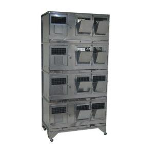 Клетки Профи 5 - Клетка для кроликов с маточным отделением Профессионал 95-КМ-4 Престиж.