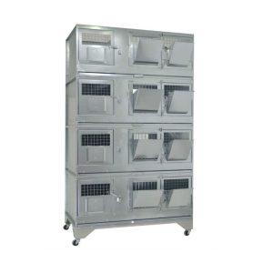 Клетки Профи 3 - Клетка для кроликов с маточным отделением Профессионал 95-КМ-4 Стандарт.