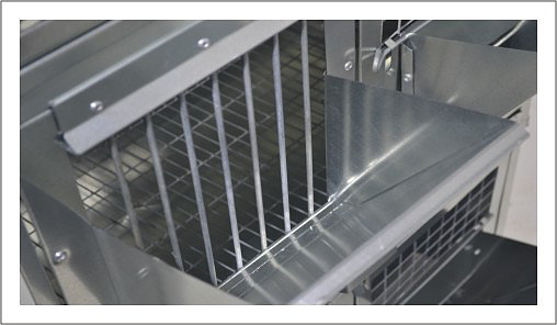 Клетки Профи 3 - Клетка для кроликов с маточным отделением Профессионал 95-КМ-1 Престиж.