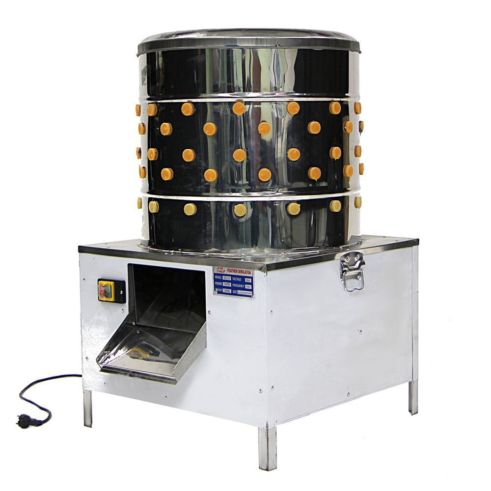 Клетки Профи 6 - Перосъемная машина NT-600 для бройлеров и уток.