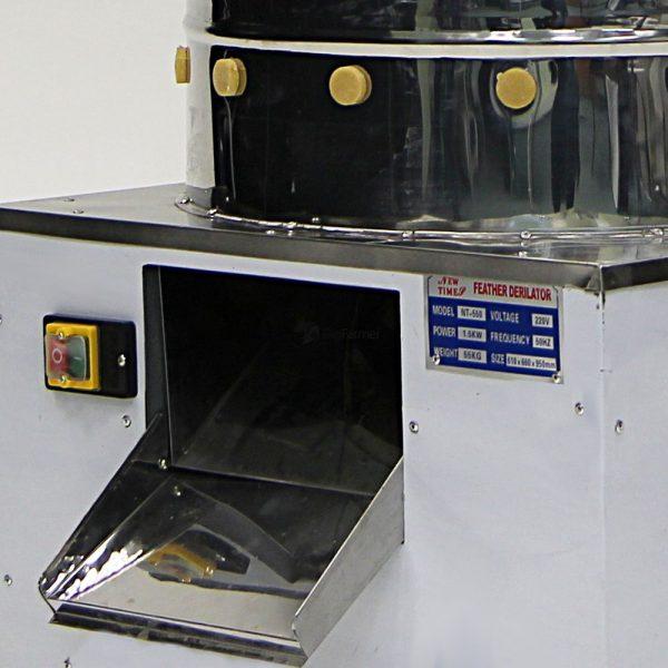 Картинка 3 - Перосъемная машина NT-550 для бройлеров.