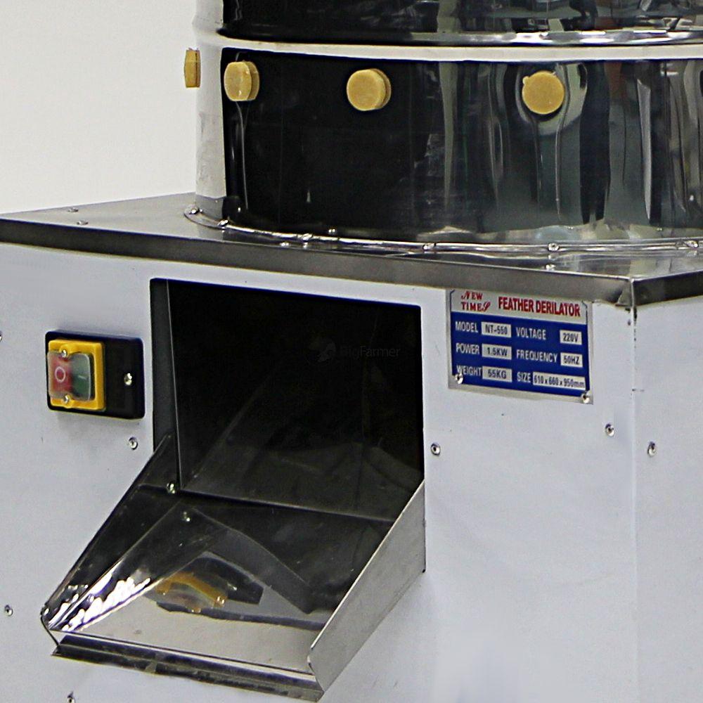 Клетки Профи 3 - Перосъемная машина NT-550 для бройлеров Клетки-ПРОФИ.