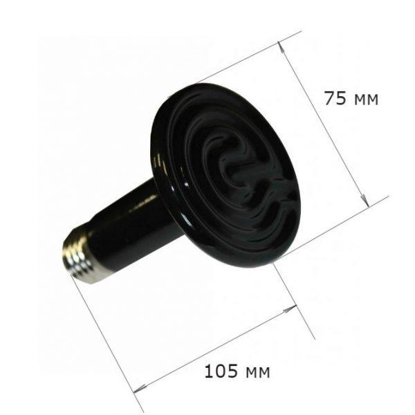 Картинка 2 - Инфракрасный нагреватель-Е27 в брудеры.