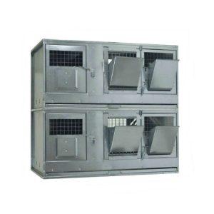 Клетки Профи 6 - Клетка для кроликов с маточным отделением Профессионал 95-КМ-2 Стандарт.