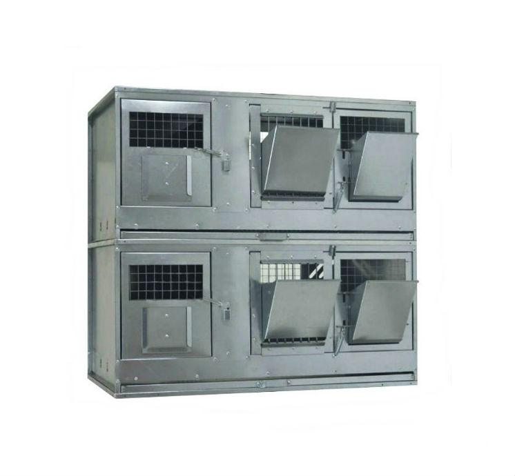 Клетки Профи 1 - Клетка для кроликов с маточным отделением Профессионал 95-КМ-2 Стандарт.