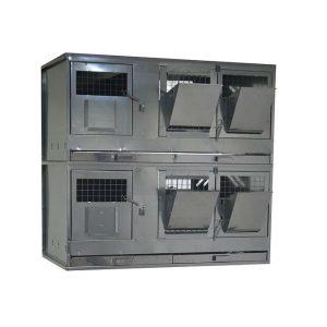 Клетки Профи 7 - Клетка для кроликов с маточным отделением Профессионал 95-КМ-2 Престиж.