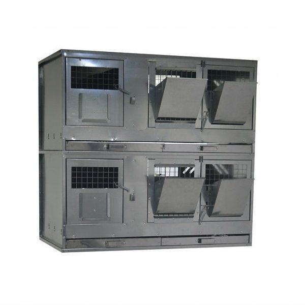 Клетки Профи 1 - Клетка для кроликов с маточным отделением Профессионал 95-КМ-2 Премиум.