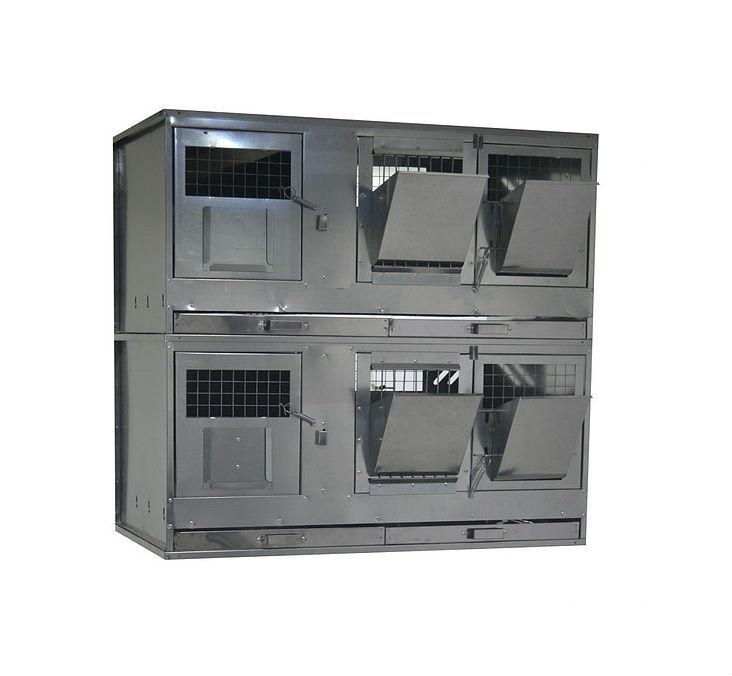 Клетки Профи 1 - Клетка для кроликов с маточным отделением Профессионал 95-КМ-2 Престиж.