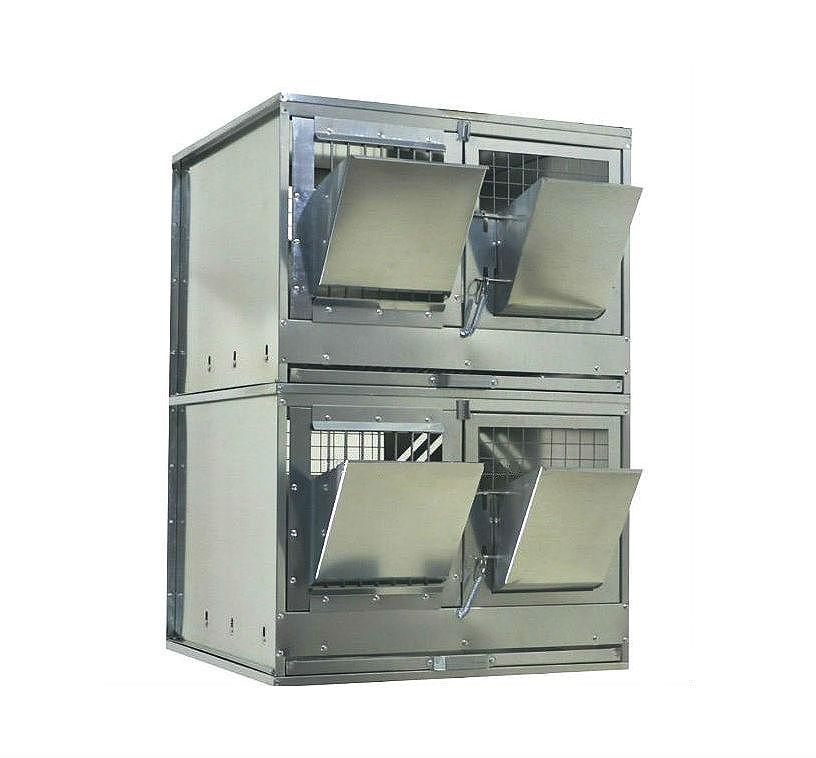 Клетки Профи 1 - Клетка для откорма кроликов Профессионал 55-КО-2 Стандарт.