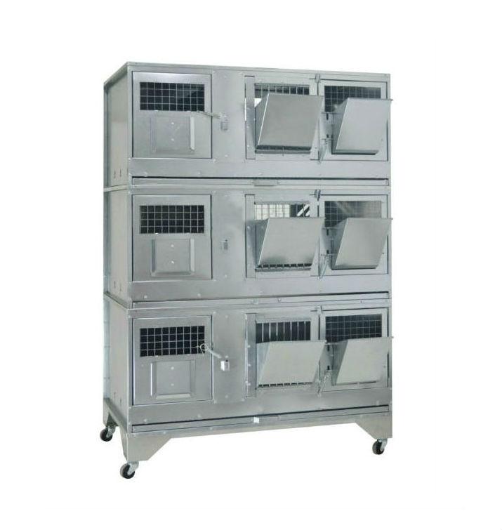 Клетки Профи 1 - Клетка для кроликов с маточным отделением Профессионал 95-КМ-3 Стандарт.