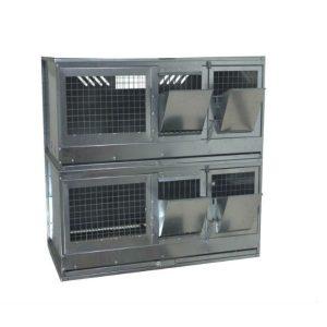 Клетки Профи 7 - Клетка для откорма кроликов Профессионал 95-КО-2 Стандарт.