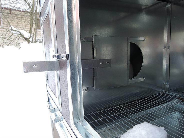 Клетки Профи 3 - Крольчатник утепленный с маточным отделением Бестселлер М-13.