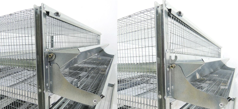 Клетки Профи 5 - Клетка для перепелов Гранд на 250 голов Престиж.