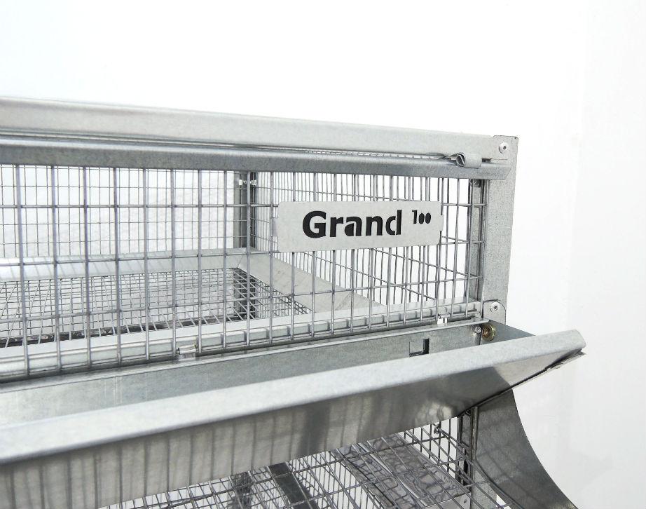 Клетки Профи 2 - Клетка для перепелов Гранд на 100 голов Стандарт.