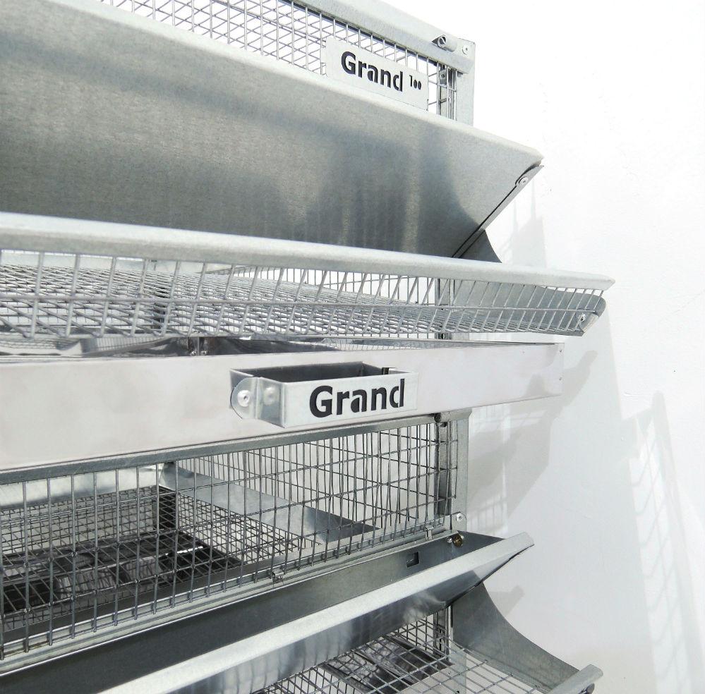 Клетки Профи 4 - Клетка для перепелов Гранд на 100 голов Стандарт.
