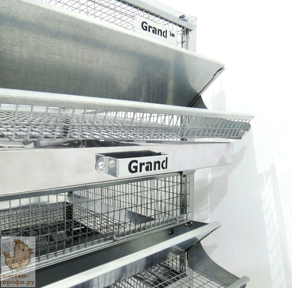 Клетки Профи 4 - Клетка для перепелов Гранд на 200 голов Престиж.