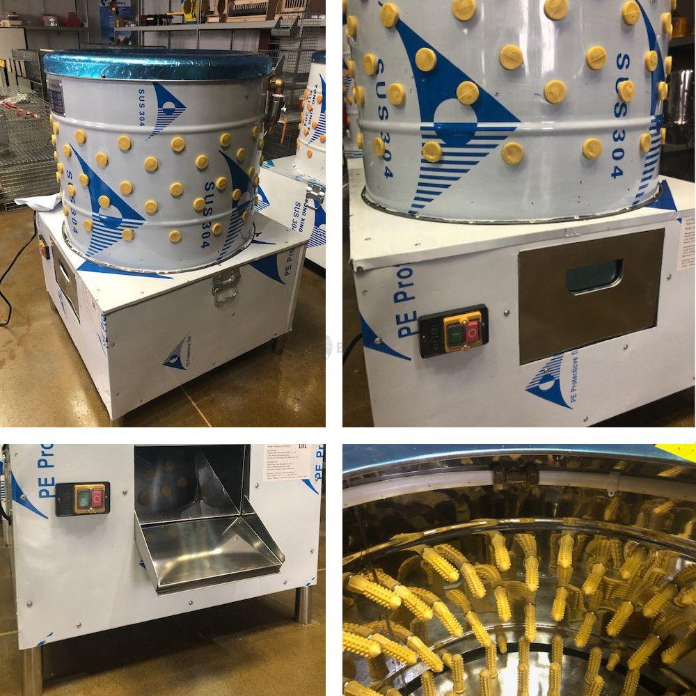 Клетки Профи 6 - Перосъёмная машина NT-600WF для бройлеров c подачей воды.
