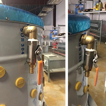 Клетки Профи 4 - Перосъёмная машина NT-600WF для бройлеров c подачей воды.
