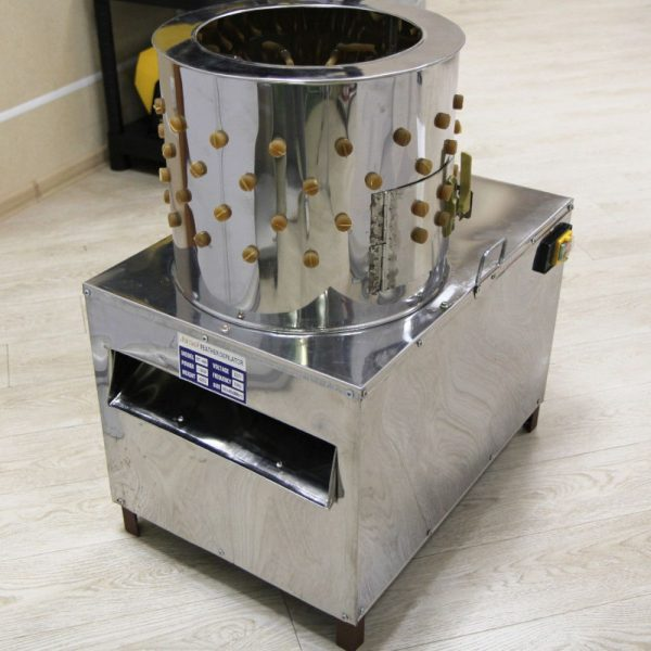 Клетки Профи 3 - Перосъемная машина NT-400 для перепелов.