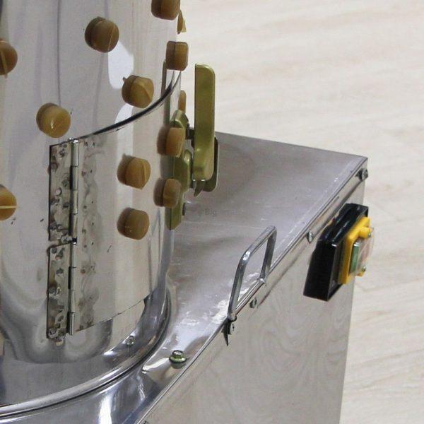 Клетки Профи 4 - Перосъемная машина NT-400 для перепелов.