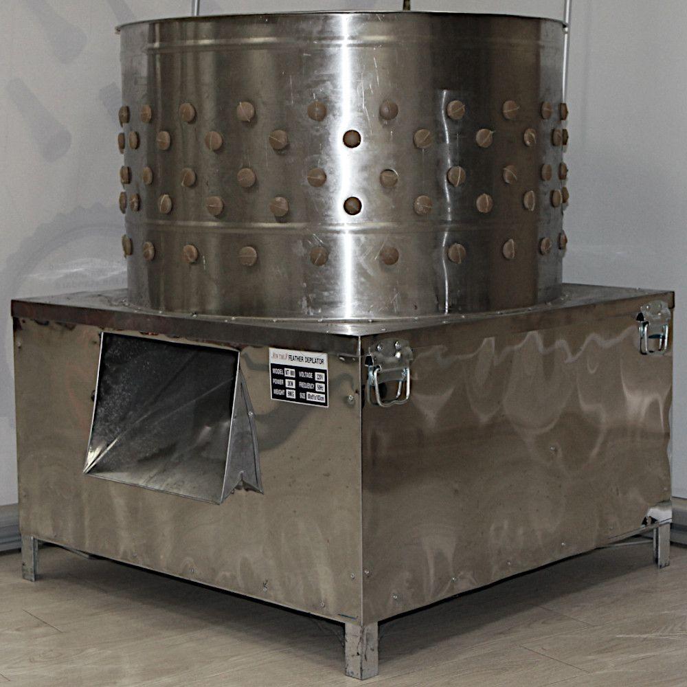 Клетки Профи 3 - Перосъёмная машина NT-800 для гусей и индеек.
