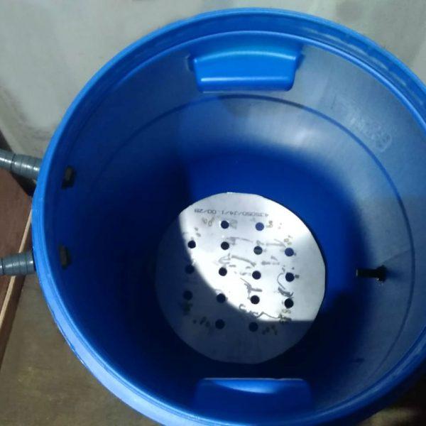 Клетки Профи 3 - Ёмкость пластиковая 127 л для ошпаривания птицы (шпарчан).